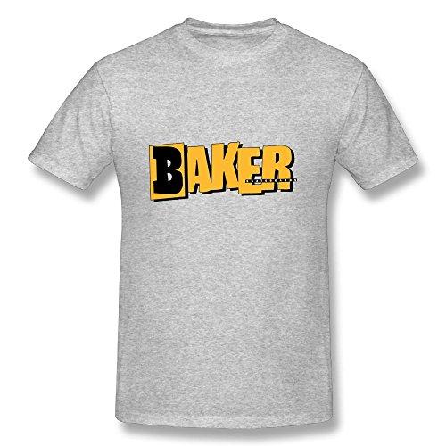 Baker Skateboards T-Shirts Baseball Sport Tshirt Short Tees Cool Tshirts