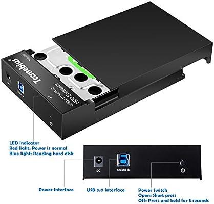 Tccmebius TCC-S863-DE USB 3.0 a SATA Externo Recinto del Disco ...