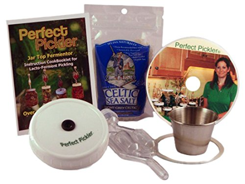 Perfect Pickler Vegetable Fermenting Kit by Celtic Sea Salt