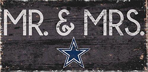 Fan Creations Dallas Cowboys Mrs Sign, (Dallas Cowboys Home Decor)