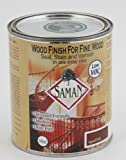 SamaN SAM-307-1L 1-Quart Interior Stain for Fine Wood for Seal, Stain and Varnish, Aged Oak by SamaN