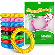 Reusable Bracelet 48 Pack, 100% Natural and Waterproof Wrist Bands for Children and Adults – [Individually Wrapped…