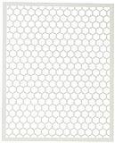 Hero Arts SA097 Stencil 6.25''X5.25'', Honeycomb