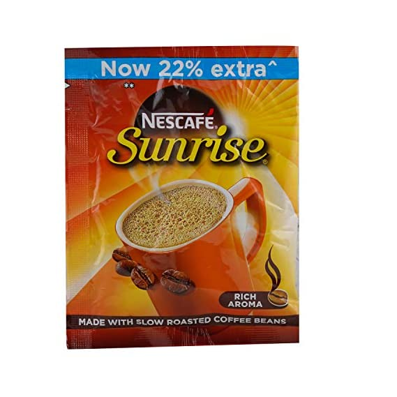 Nescafe Sunrise Instant Coffee - Chicory Mixture, 11g Pouch