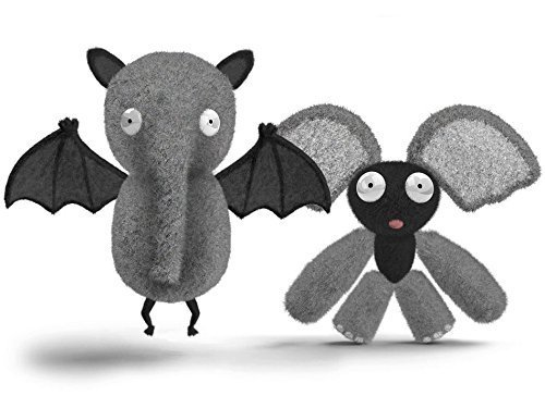 Chimeras Bat & Elephant Plush Stuffed Animals Set with Interchangeable Parts by Walrus Toys (Walrus Plush Stuffed Animal)