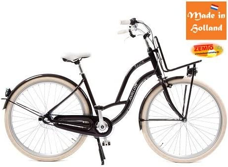 Bicicleta holandesa para mujer Beach de 3 marchas, 28 pulgadas ...