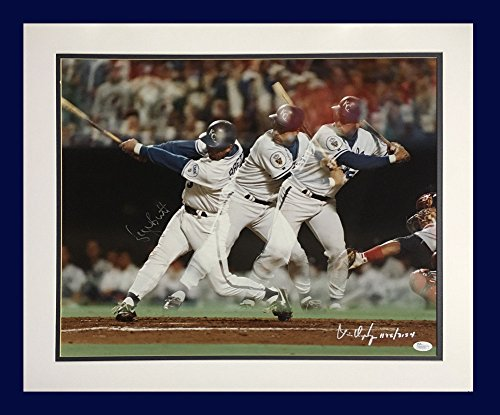 George Brett Royals Signed 16x20 Photo Framed AutographHall of FameJSA Coa Le /3134 - Authentic MLB - Framed George Brett Photo