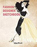 Fashion Designer Sketchbook: Women figure sketch