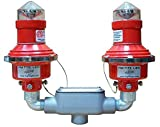 L810 LED Dual Head 240VAC with 1'' Bottom Hub