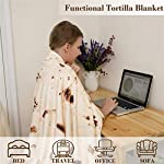 mermaker-Burritos-Blanket-for-Adult-and-Kids-Novelty-Tortilla-Blanket-Adult-71-inches-Realistic-Soft-Flannel-Taco-Blanket-Yellow-Blanket-4
