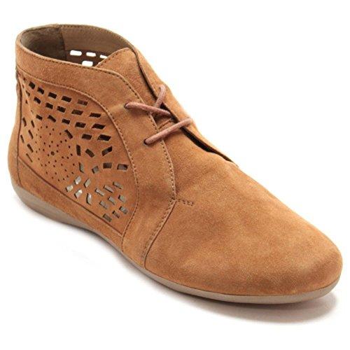 Marc Shoes Janine Damen Desert Boots Braun
