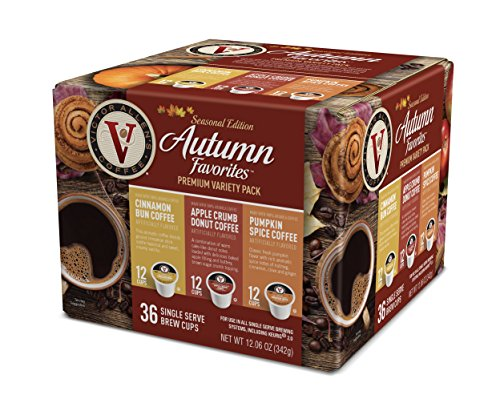 Victor Allen Coffee Autumn Favorites Single Serve 36 Count (Compatible with 2.0 Keurig ()