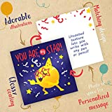 Lunch Box Notes for Kids - 60 Cute Inspirational and Motivational Thinking of You Cards for Boys & Girls Lunchbox