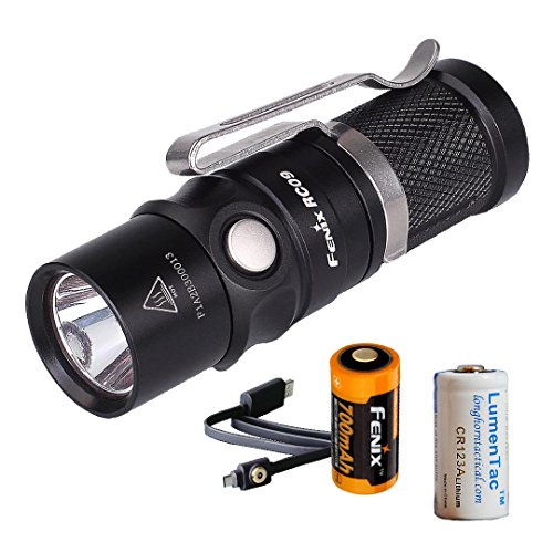 Rechargeable Flashlight RCR123A Charging LumenTac product image