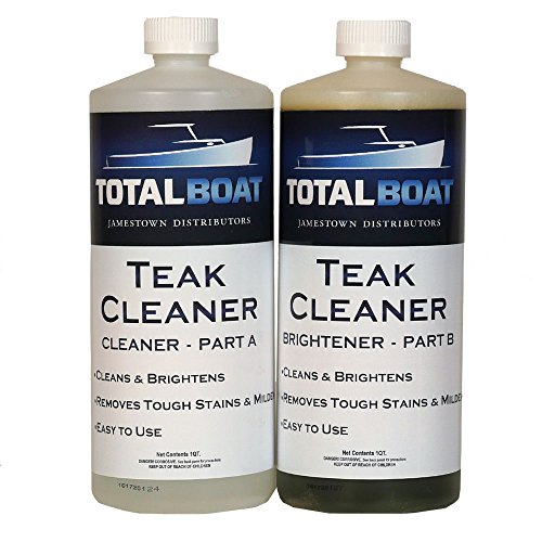 TotalBoat Teak Wood Cleaner (2 Quart) (Cleaner Star Brite Teak)