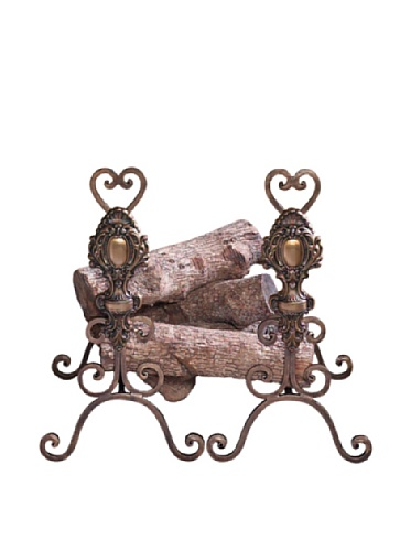 Tuscany Andirons - Set of 2 by DH Decor