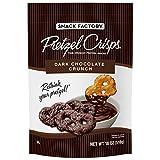 Snack Factory Pretzel Crisps, Dark Chocolate Crunch 18 oz. (pack of 3) A1