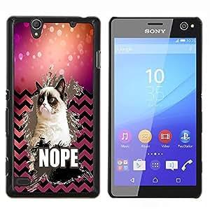 Dragon Case - FOR Sony Xperia C4 - Take away love - Caja protectora de pl??stico duro de la cubierta Dise?¡Ào Slim Fit