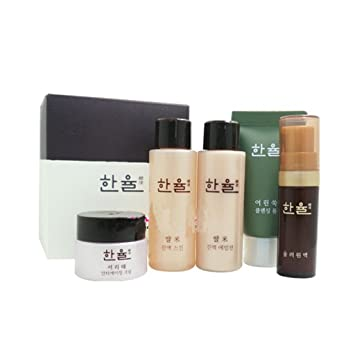Amazon.com: Hanyul Best Gift Travel Kit Set (Moisturizing N Anti ...