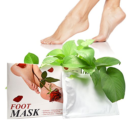 Exfoliating Foot Peel Mask,,Exfoliating Calluses and Dead Skin Remover,Get Soft Baby foot in 1-2 Weeks  by Vena Beauty 1 pair