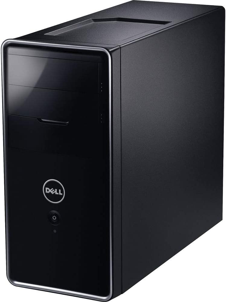 Dell Inspiron 620 Tower Desktop PC, Intel Quad Core i5 2320 up to 3.3GHz, 8G DDR3, 500G, VGA, HDMI, Windows 10 Pro 64 Bit-Multi-Language Supports English/Spanish/French(Renewed)