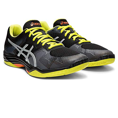 Noir (noir argent 001) 46.5 EU ASICS Gel-Tactic, Chaussures de Volleyball Homme