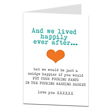 Funny sarcastic anniversary card for him husband boyfriend amazon funny sarcastic anniversary card for him husband boyfriend m4hsunfo