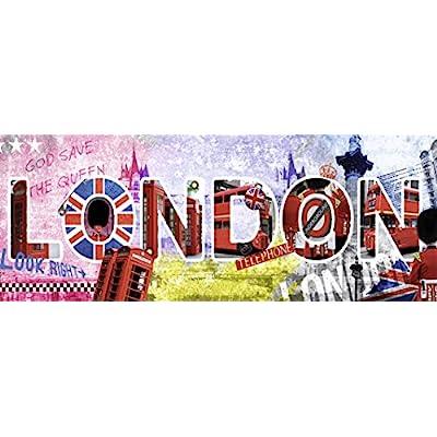 Nathan 87610 Puzzle Classico London Scritta 1000 Pezzi