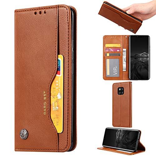 Amazon com: Happon Huawei Mate 20 Pro Leather Wallet Case