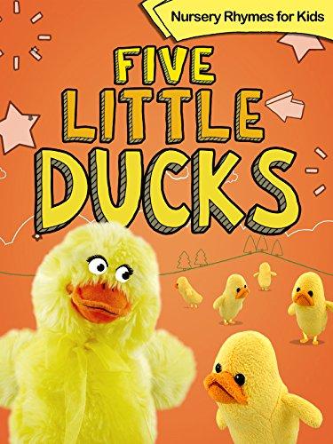 Five Puppets - Five Little Ducks - Nursery Rhymes for Kids