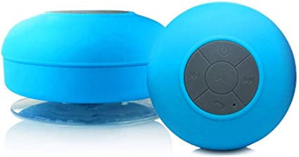 Durable for Home Party Camping Black Gnc33Ouhen Waterproof Suction Cup Mini Wireless Bluetooth Speaker Bathroom Music Player Wireless Stereo Pairing Charge Your Phone