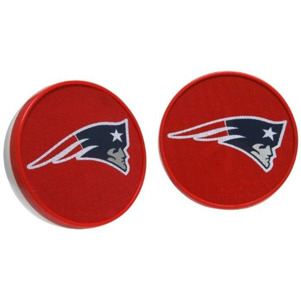 New England Patriots Zeikos iHip HPFBNEPSPS Ihip NFL Officially Licensed Speakers Multicolor