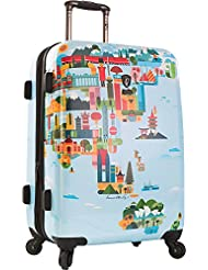 Heys America FVT 26 Spinner Luggage (World Map)