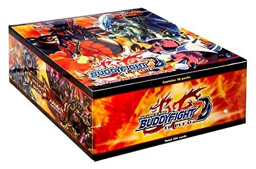 12 Box Factory Sealed Case - Buddy Fight Unleash Impact Dragon Factory Sealed Booster Box BFE-D-BT01 - 30 packs of 5 cards each!