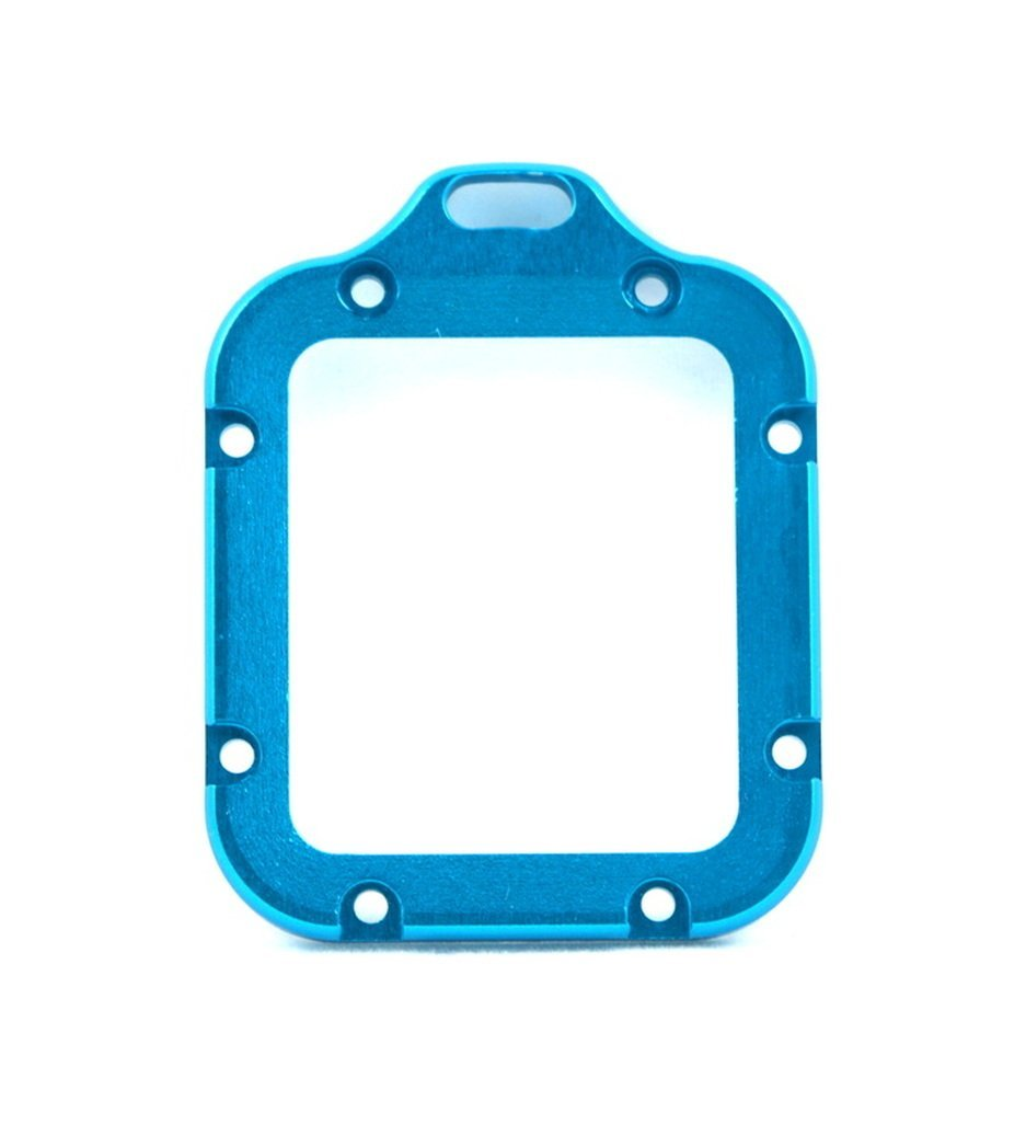 TMC Aluminum Lanyard Metal Lens Ring Mount with Screwdriver For GoPro Hero 3 (BLUE)US by Tattopani