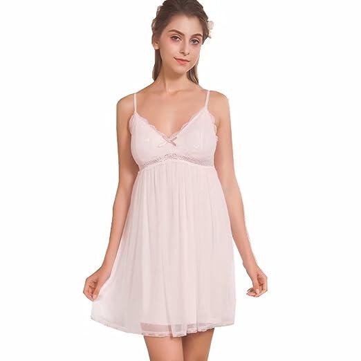 bdc68bffa Flaydigo Nightgowns Women s Sleeveless Victorian Night Gown Sleepwear  Cotton Sleepdress