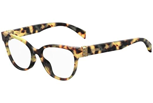 629e0412eda1 Eyeglasses Moschino Mos 509 0SCL Yellow Havana at Amazon Men's ...