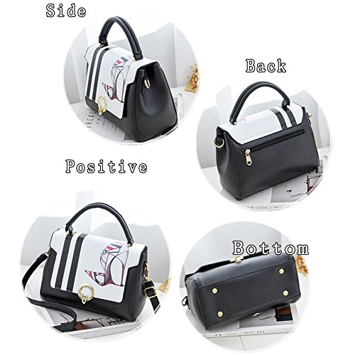 G-AVERIL - Bolso mochila  para mujer Black5 Black4