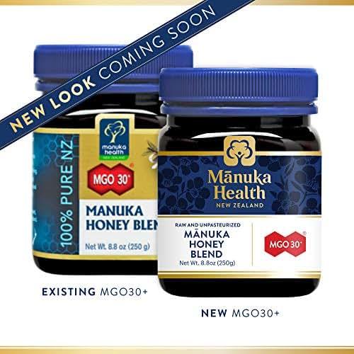 Manuka Health - MGO 30+ Manuka Honey Blend, 100% Pure New Zealand Honey, 8.8 Ounce