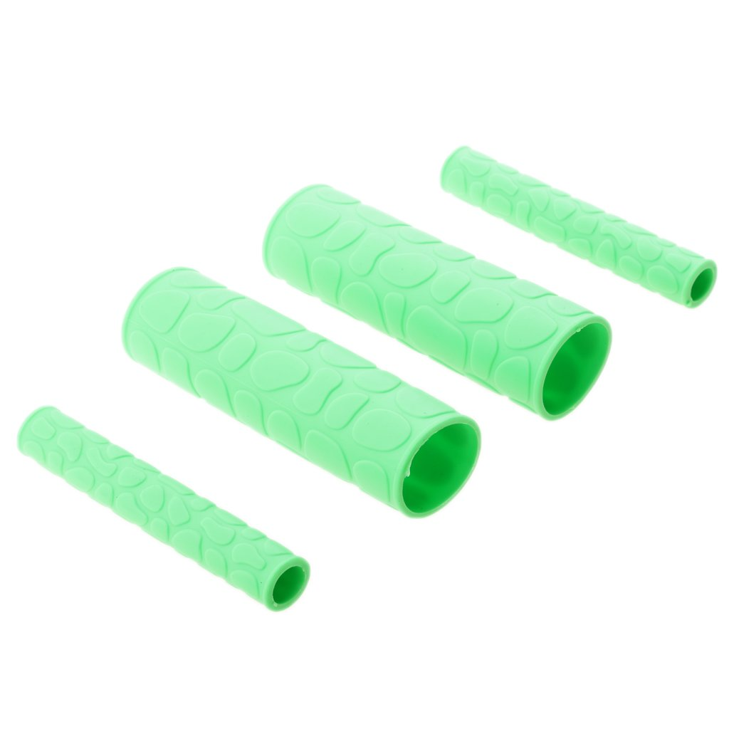 Jili Online Universal Motorcycle ATV Bikes Handlebar Handle Grips with Handle Brake Cover - Green by Jili Online (Image #3)