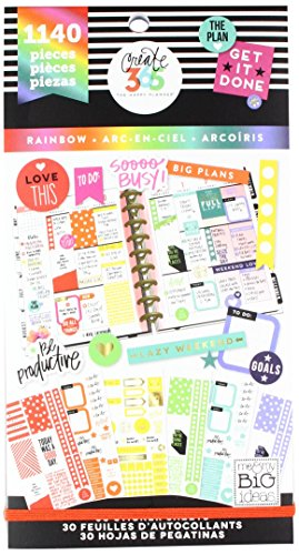 Me & My Big Ideas Create 365 The Happy Planner Value Pack 1829 Stickers
