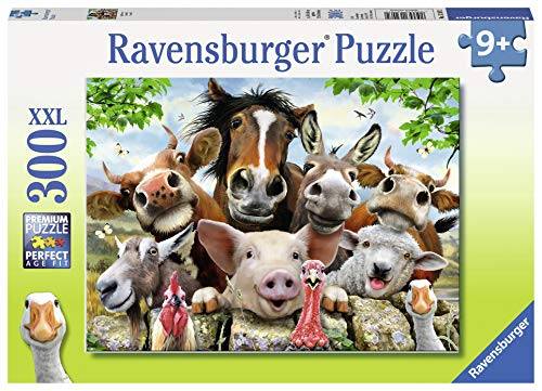 Ravensburger Say Cheese! Jigsaw 300 Piece Jigsaw Puzzle for Kids - Every Piece is Unique, Pieces Fit Together Perfectly