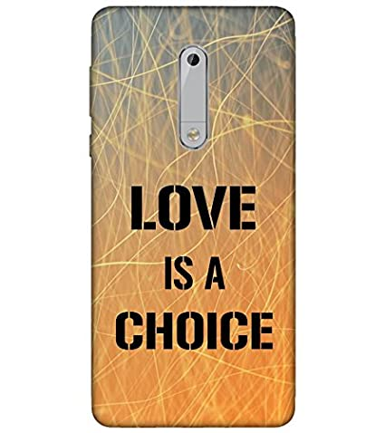 new concept 2259d a04a4 For Nokia 5 Printed Back Case; 3D Designer Back Cover: Amazon.in ...