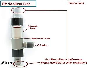 Aquarium Inline Co2 Atomizer Diffuser