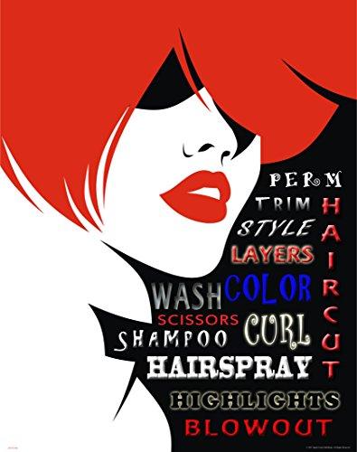 Hair Salon Art Print Poster Wall Decor Motivational Stylist Barber Shears Gifts