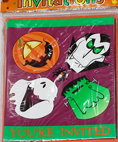 Halloween Party - You're Invited Monster Mash -
