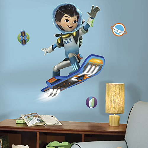 "RoomMates RMK3021GM Miles from Tomorrowland Peel & Stick Giant Wall Decals, 33"" x 30"""