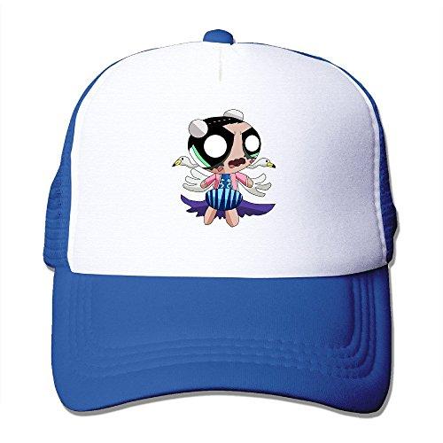 - MZONE Unisex-Adult Flat Billed Caps Hat Cartoon Role Power Puffed Fishing Cap Hats RoyalBlue