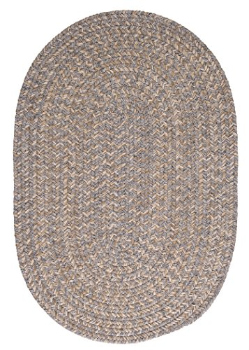 Tremont Area Rug, 2' x 3', Gray 2' Oval Area Rug
