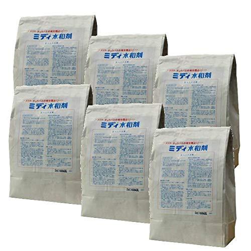 ミディ水和剤 1kg×6個 不快害虫用脱皮阻害剤 チョウバエユスリカ対策 B07RSPLY4N